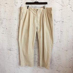 ORVIS TAN PANTS COTTON BLEND PANTS  40